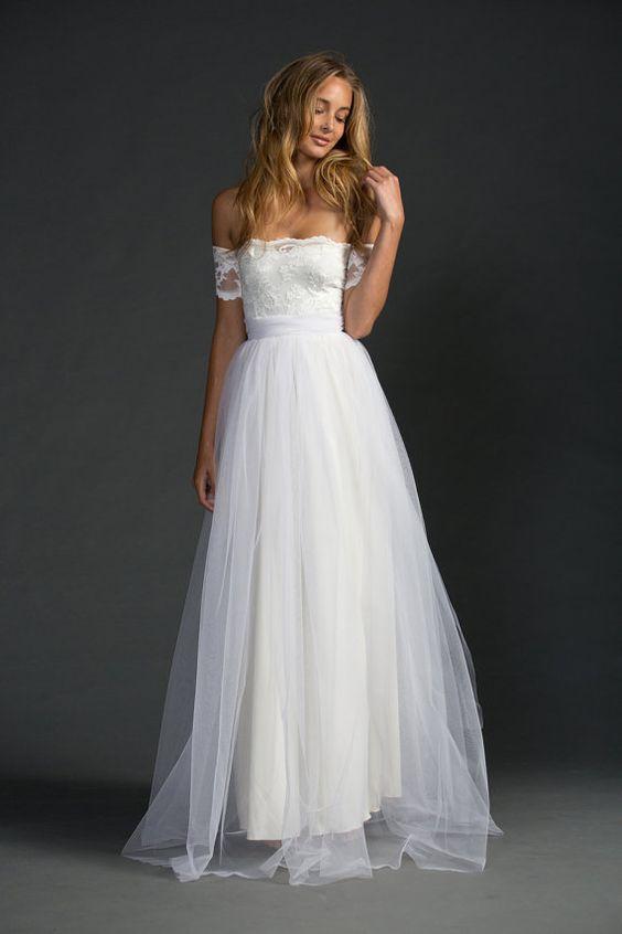 vestido noiva decote ombro a ombro 6