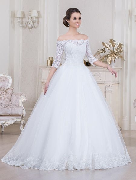 vestido noiva decote ombro a ombro 7