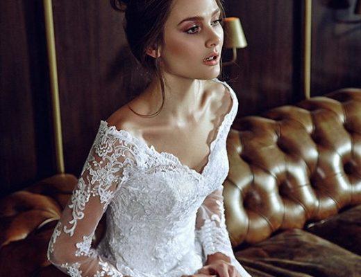 vestido noiva decote ombro a ombro 9