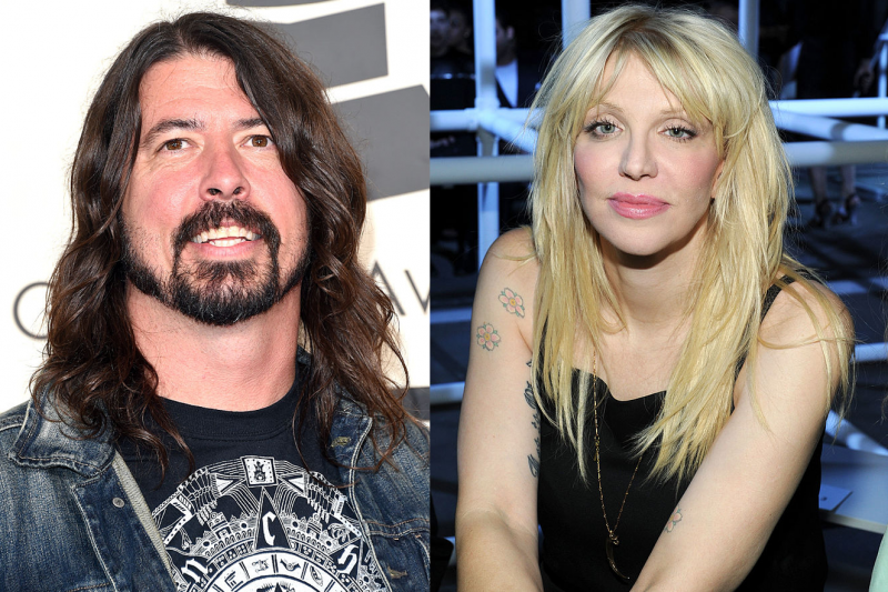 Courtney Love vs. Dave Grohl