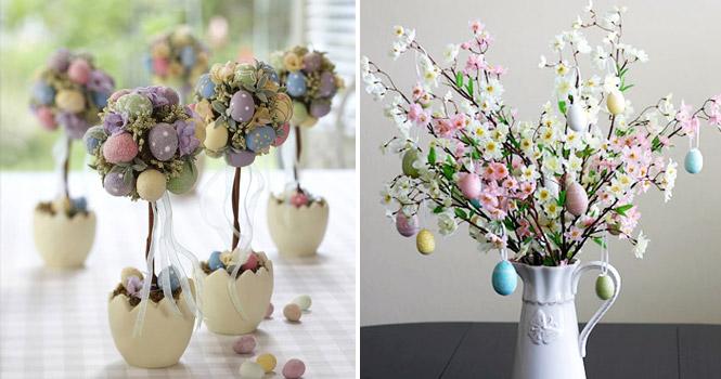 Decoração-de-páscoa-flores
