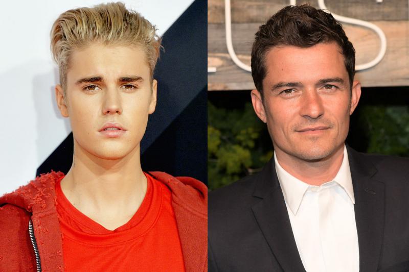 Justin Bieber vs. Orlando Bloom