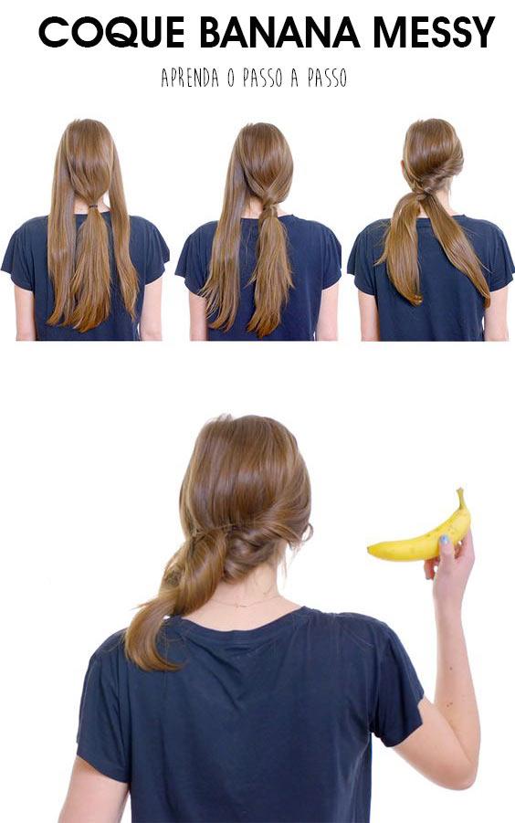 coque-banana-messy-bagunçado-tutorial-de-como-fazer-o-pneteado-de-forma-simples