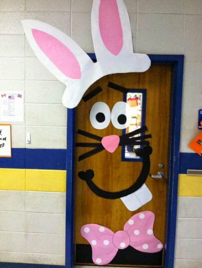 decoração-de-páscoa-na-escola