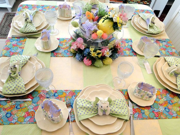 decoração-de-pascoa-mesa