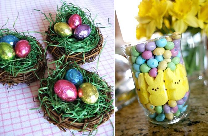 decoração páscoa doces