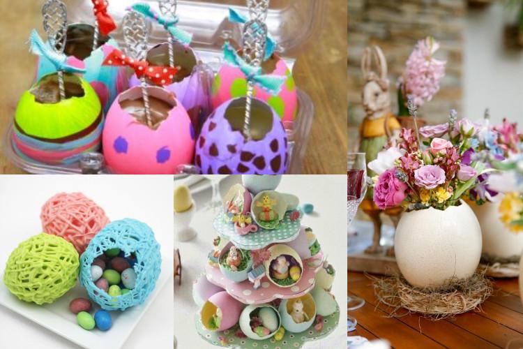 decoração páscoa ovos
