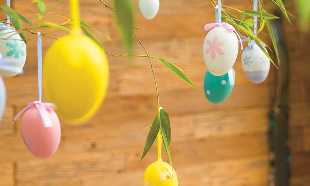 decoracao-mesa-pascoa com crianças