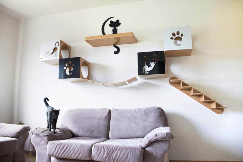 moveis para casa com gatos