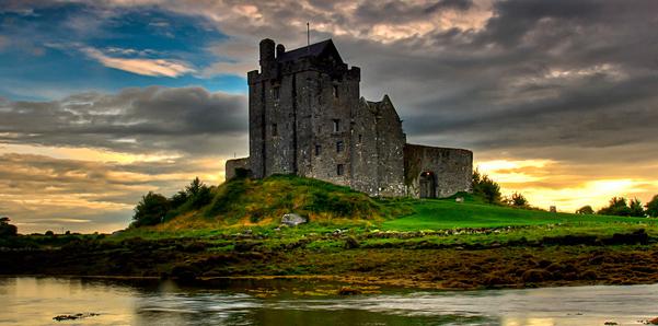 paisagens da Ilha Esmeralda Irlanda