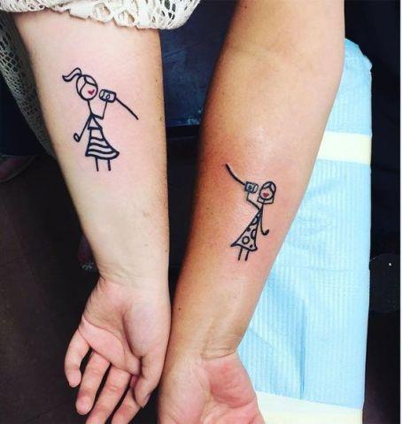 tatuagem para mãe e filha 20