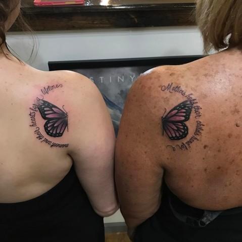 tatuagem para mãe e filha 30
