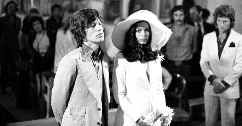 Bianca Jagger Vestido de casamento