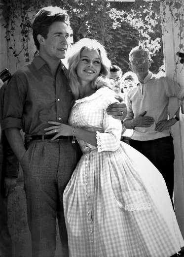 Brigitte Bardot vestido de casamento
