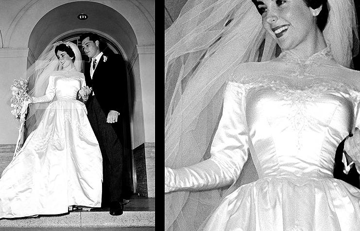 Elizabeth Taylor vestido de casamento