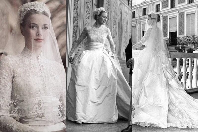 Grace Kelly vestido de casamento