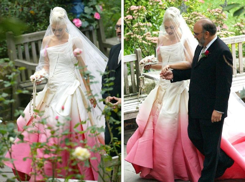 Gwen Stefani Vestido de casamento