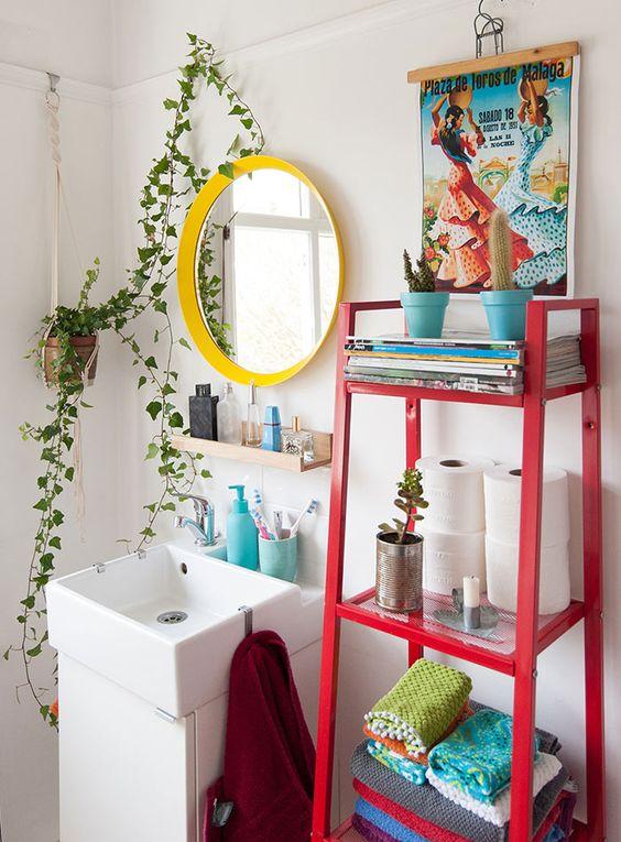Hera Inglesa na decoração do banheiro