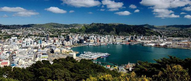 Ilha Sul na Nova Zelândia