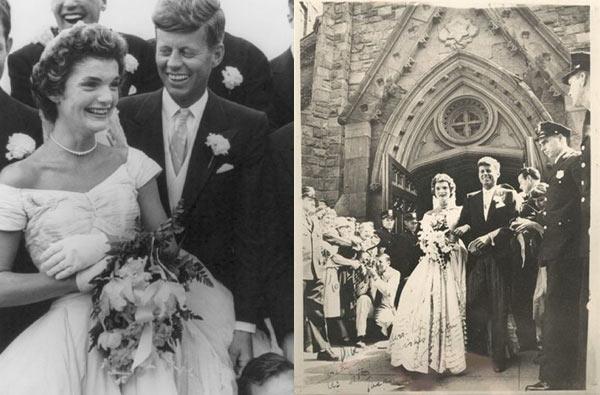 Jacqueline Kennedy Vestido de casamento