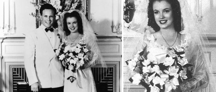 Marilyn Monroe Vestido de casamento