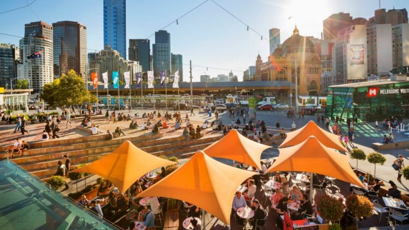 Melbourne na Austrália