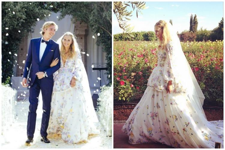 Poppy Delevingne vestido de casamento