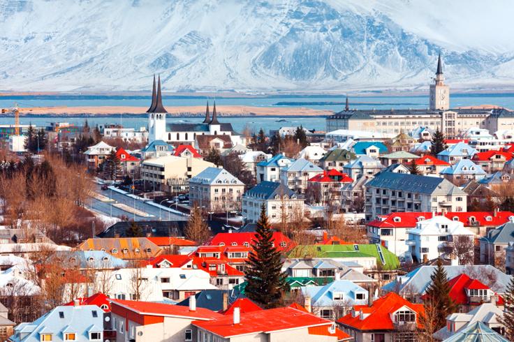 Reykjavík na Islândia