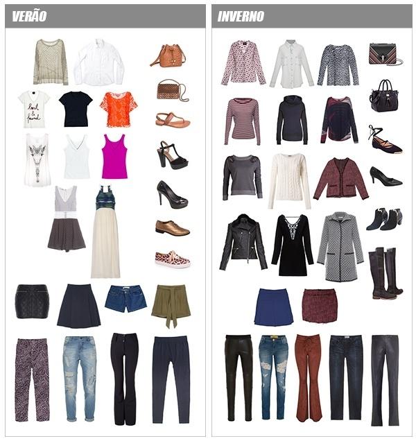 Aparador Pelo Wahl ~ Armário cápsula descubra o queé e aprenda a montar o seu We Fashion Trends