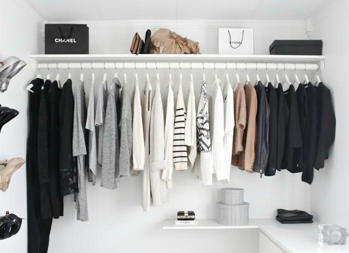 armário minimalista