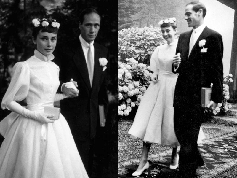 audrey-hepburn-vestido de casamento