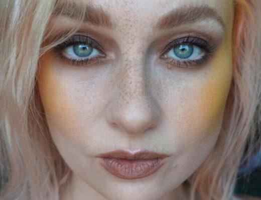 blush amarelo maquiagem tendência