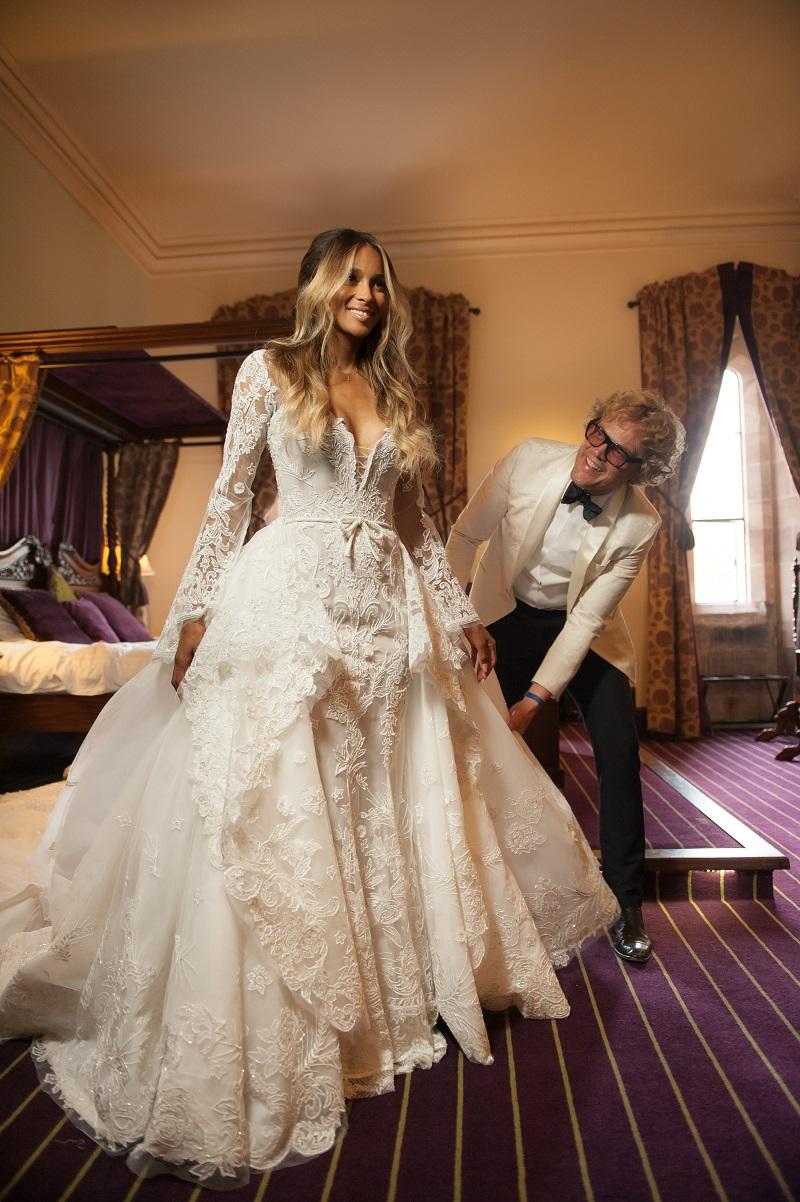 ciara Vestido de casamento