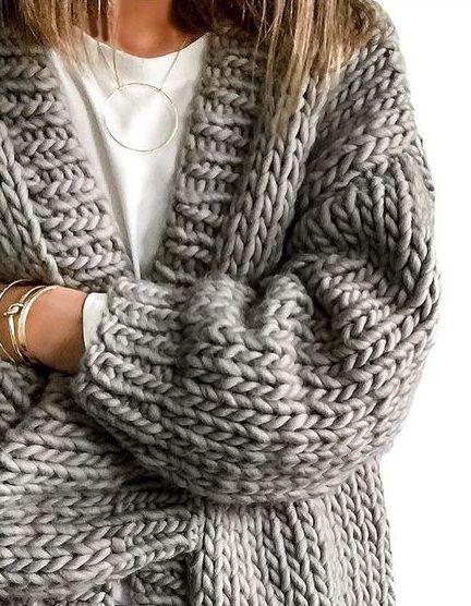 como usar tendência Hygge blusão de lã cinza