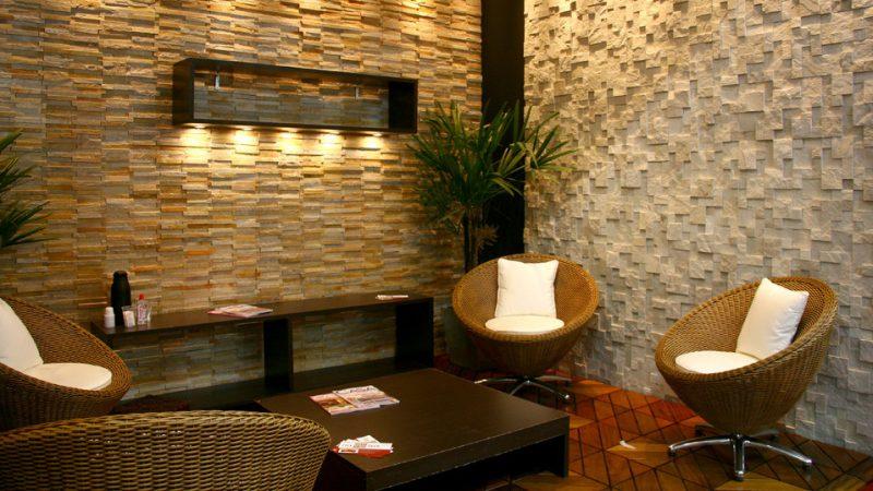 decorar casa com pedras naturais
