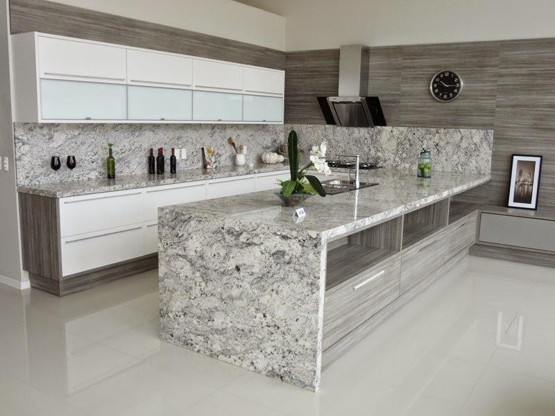 granito na decoração da cozinha