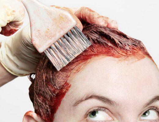 pintar os cabelos em casa