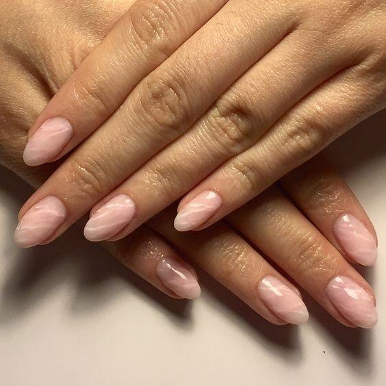 quartzo rosa unhas e nail art