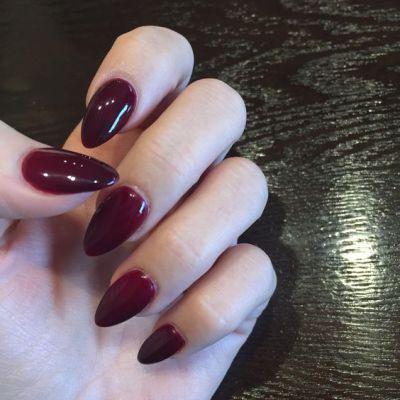 tendência nail art inverno unha stiletto
