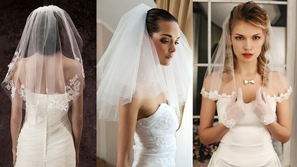 véu de noiva no ombro casamentos