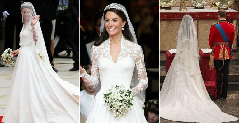 vestido de casamento kate middleton