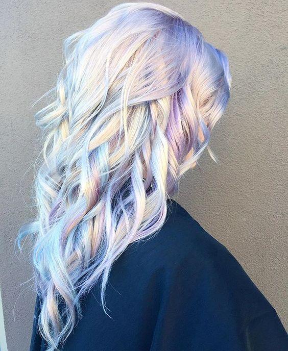Cabelo fantasia opal hair