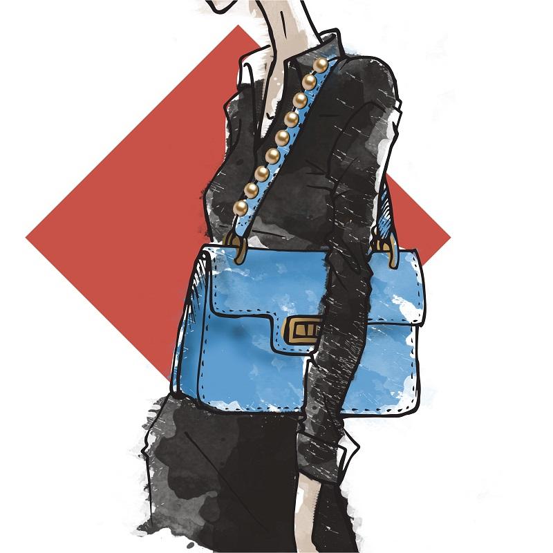 bolsa de ombro tendência verão 2018
