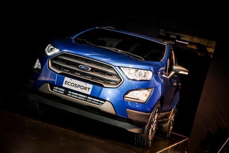 nova ford ecosport 2018