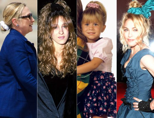 scrunchies anos 90