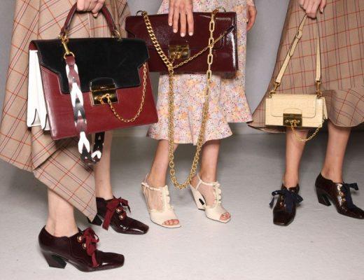 tendência de bolsas e calçados verão 2018
