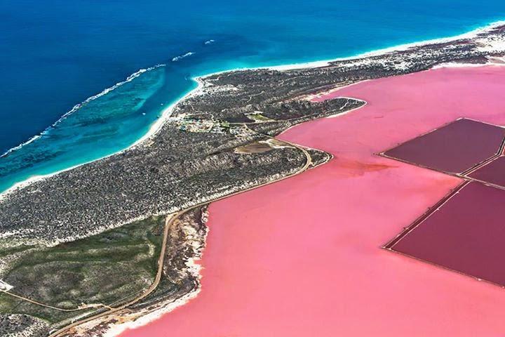 Hutt Lagoon , Austrália