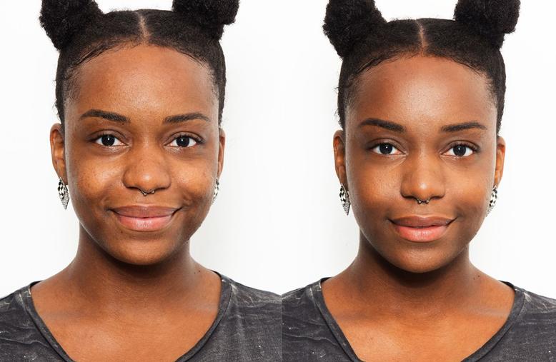 antes e depois base 3