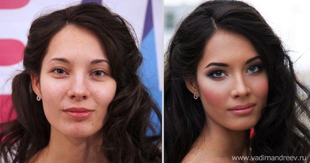 antes e depois da maquiagem 15