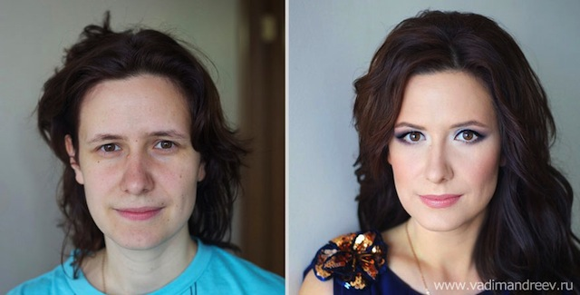 antes e depois da maquiagem 18